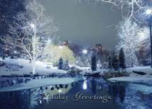 City Park Holiday Greetings Cards